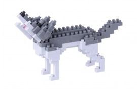 Nanoblock Loup gris