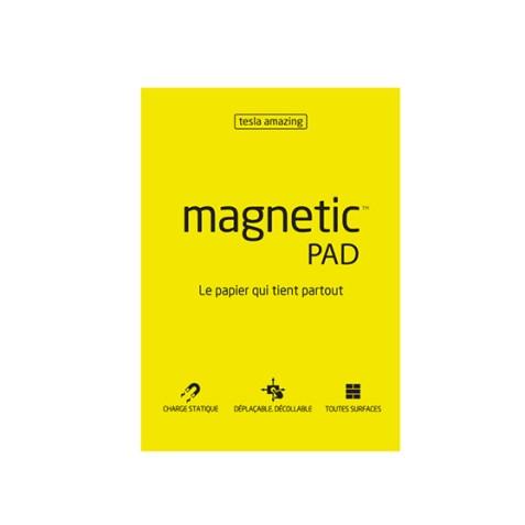 Magnetic Pad Tesla Amazing Jaune