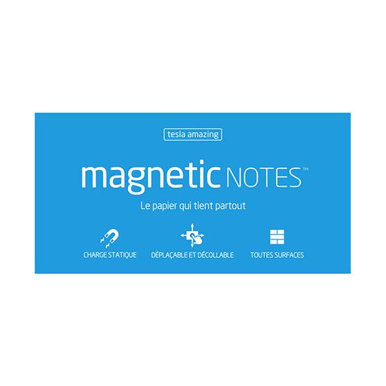 Magnetic Notes Tesla Amazing bleu