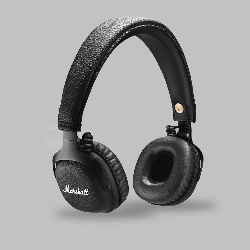 Casque Bluetooth Mid Noir Marshall