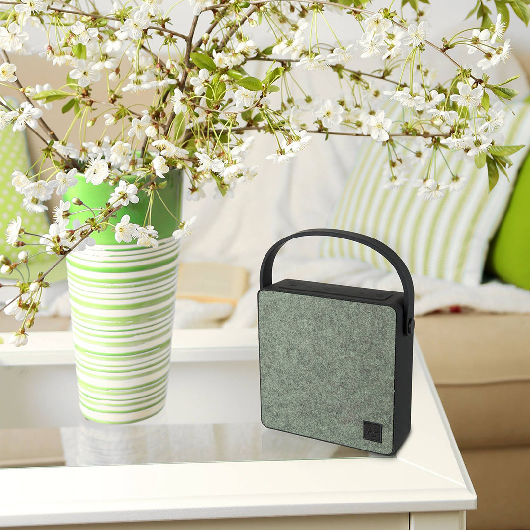 Enceinte Bluetooth Flair Kitsound Vert