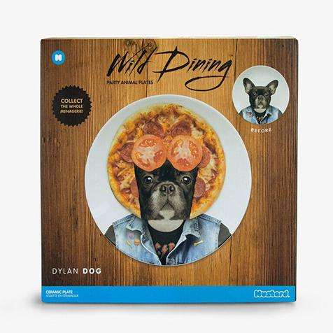 Assiette Wild Dining 23 cm Dylan Chien Just Mustard