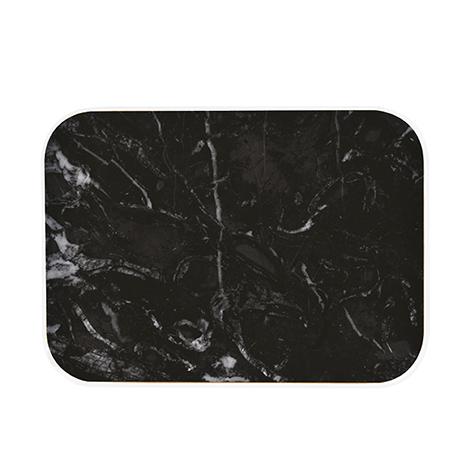 Plateau Osmose marbre noir Zak Designs