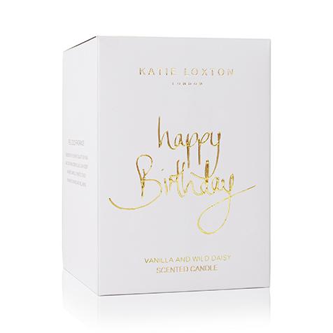 Bougie Happy Birthday Katie Loxton