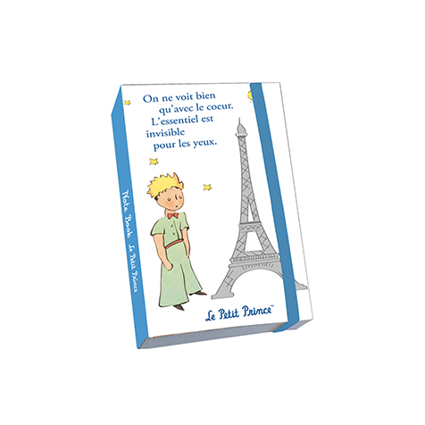 Notebook A6 blanc le Petit Prince Kiub