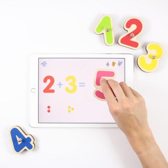 Jeu éducatif pour iPad et tablette Samsung Smart Numbers Marbotic