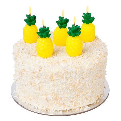 Bougies pour gâteau Ananas Sunny Life