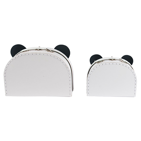 Set de 2 petites valises Panda Sass & Belle