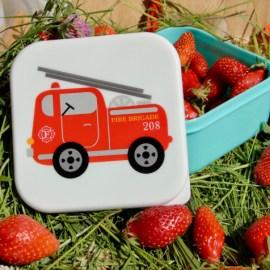 Lunch box Camion de pompier Sass & Belle