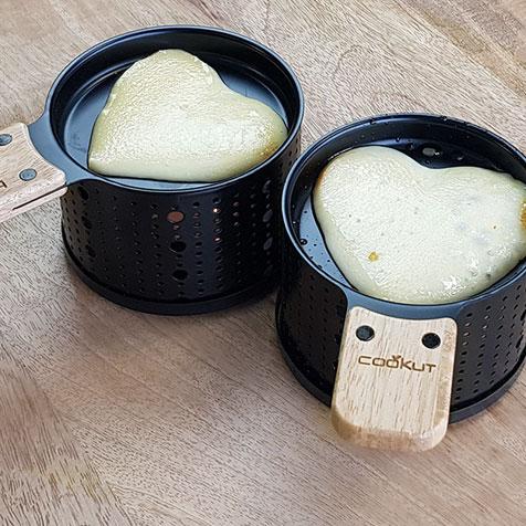 4 Sets individuels pour raclette Lumi Cookut