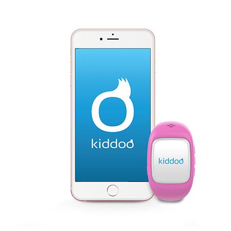 Montre connectée pour enfant rose Kiddoo