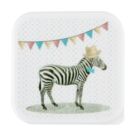 Lunch box Zebre Sass & Belle