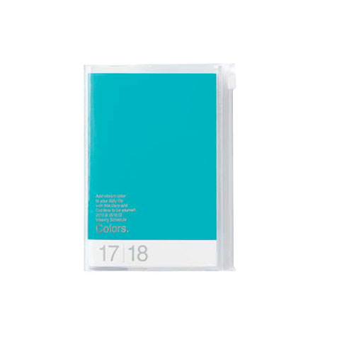 Agenda 2018 Colors A6 turquoise Mark's