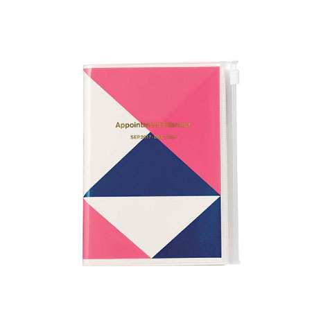 Agenda 2018 Geometric A6 rose Mark's