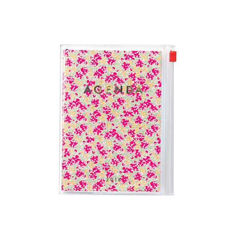 Agenda 2018 Flower A6 rose Mark's