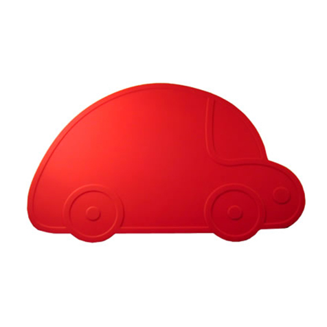 Set de table Voiture rouge KG Design
