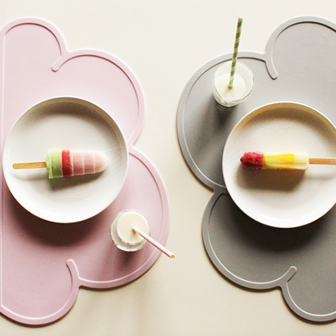 Set de table Nuage rose KG Design