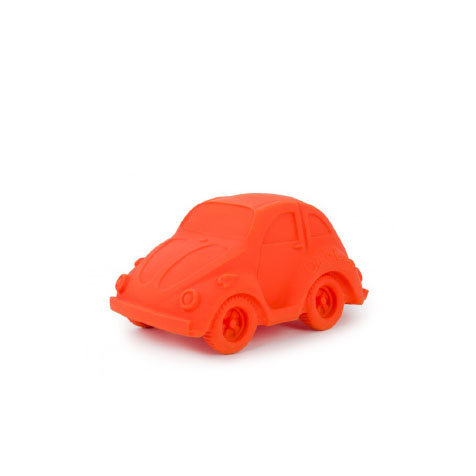 Jouet de bain voiture Carl rouge Oli & Carol