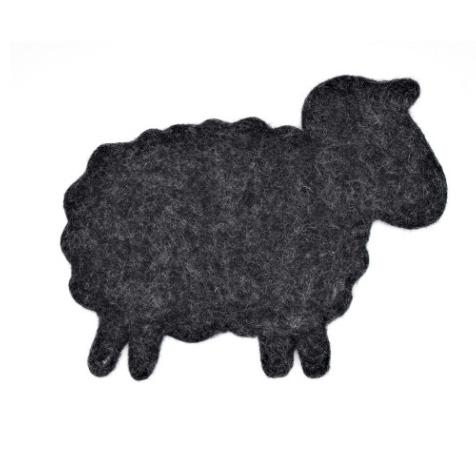 Dessous de plat Mouton noir Invotis