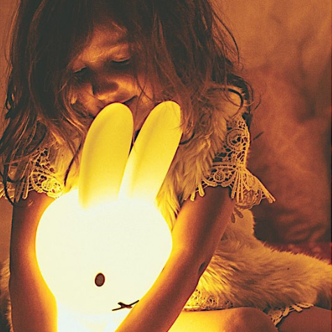 Lampe Miffy Lapin 30 cm first light blanc Mr Maria