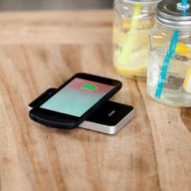 Coque de chargement iPhone 7 et chargeur sans fil noir Zens