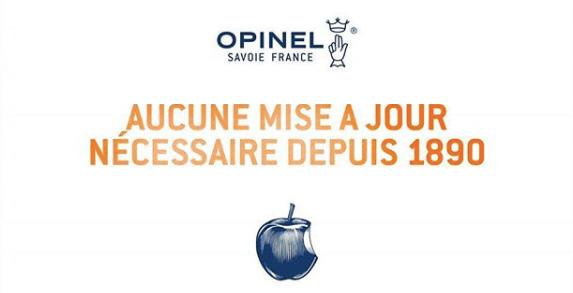 la collection Opinel depuis 1890