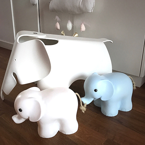 Lampe Éléphant Bleu Egmont Toys
