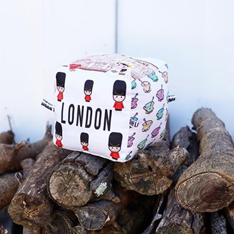 Cube pour enfants Londres Globe Totters