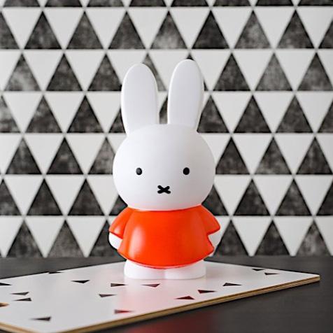 Tirelire Miffy orange Atelier Pierre
