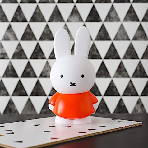 Tirelire Miffy orange Atelier Pierre