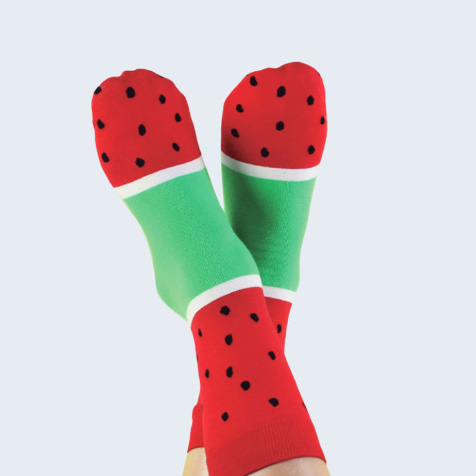 Chaussettes glace à la Pastèque DOIY