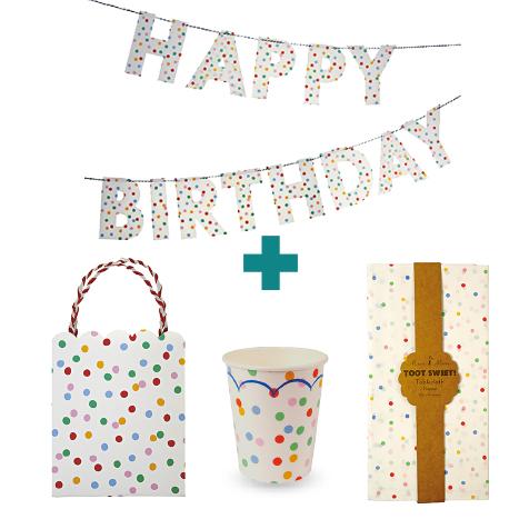 Kit anniversaire petits pois