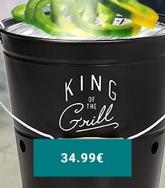 SEAU À BARBECUE GENTLEMEN'S HARDWARE : 34.99 €