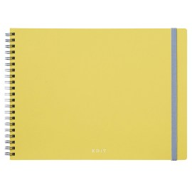 Carnet Spirale Pointillé Ideation Jaune by MARK's JAPAN