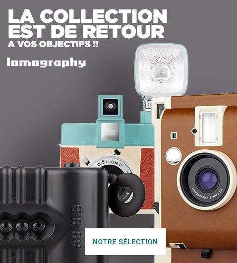 Appareils, pellicules, accessoires & objectifs Lomography La nouvelle collection