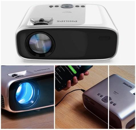 Philips NeoPix Easy+ Mini-projecteur NPX445