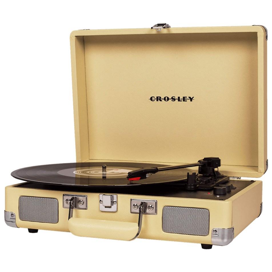 Platine vinyle Crosley Cruiser Deluxe – Coloris Fauve
