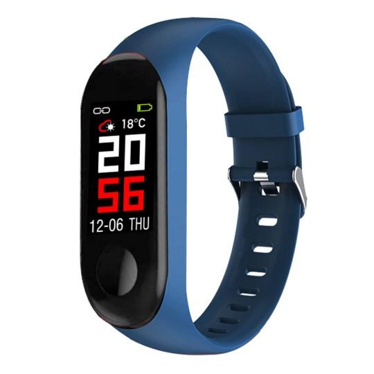 Abyx Fit Smart III Noir Tracker d'activité avec moniteur cardiaque