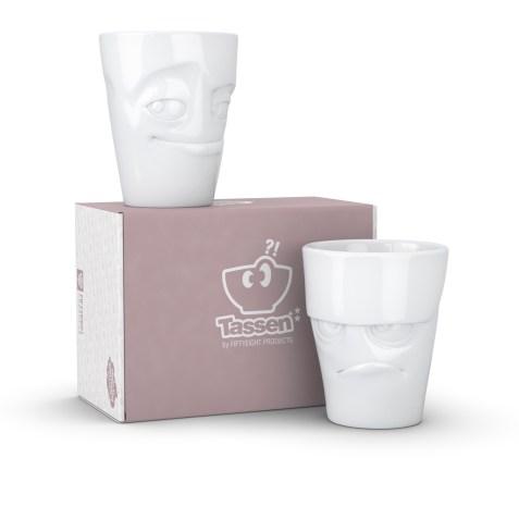 Set de 2 mugs Tassen de 350ml – Boudeur et Malicieux