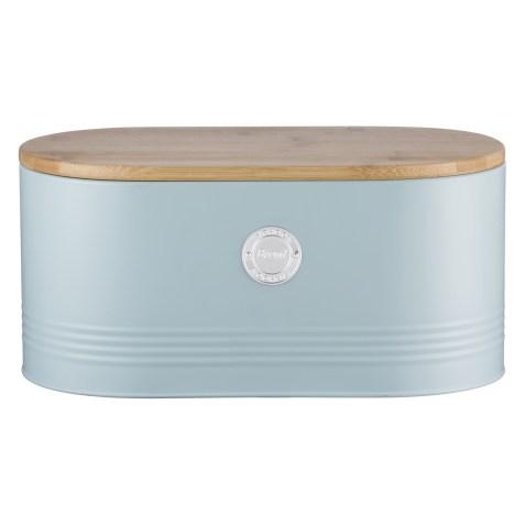 Boîte de conservation pour pain look vintage – Bleu clair