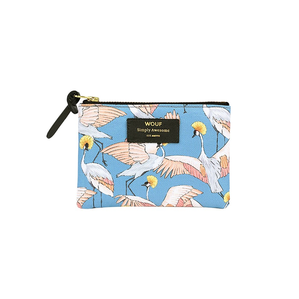 Petite pochette Imperial Heron by Wouf