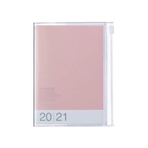 Agenda 2020-2021 Mark's Japan Colors A6 Rose poudré – sep20 à déc21
