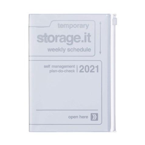 Agenda 2020-2021 Mark's Japan Storage.it B6 Blanc – oct20 à déc21