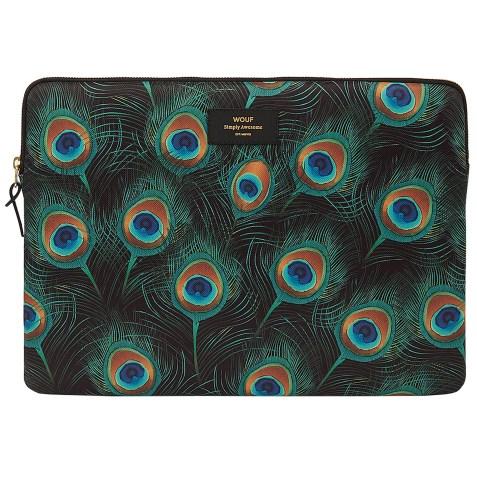 Housse WOUF pour ordinateur portable 15″ – Peacock