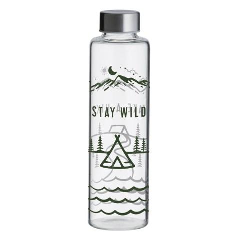 Bouteille en verre 600ml – Stay Wild