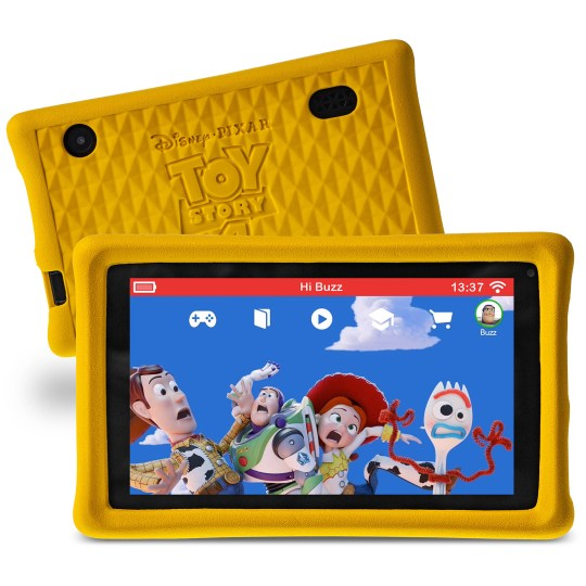 Tablette Multimédia pour enfants Pebble gear Licence officielle Disney Toy Story