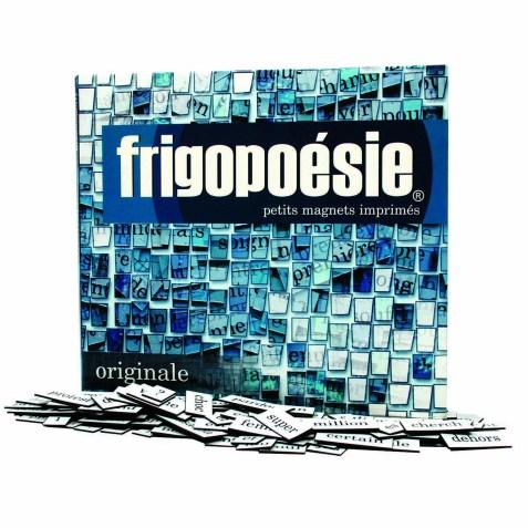 Frigopoésie – Plus de 500 mots magnétiques pour votre frigo