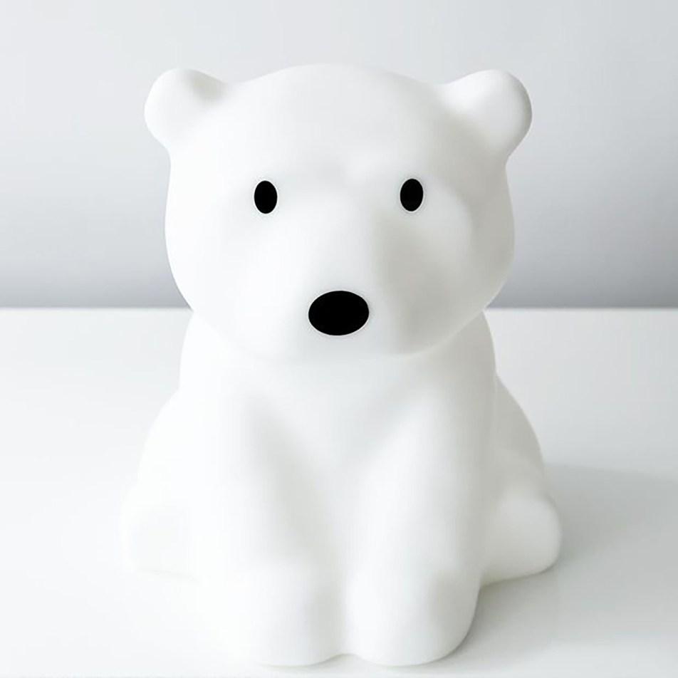 Lampe Nanuk Ours polaire 42cm blanc Mr Maria