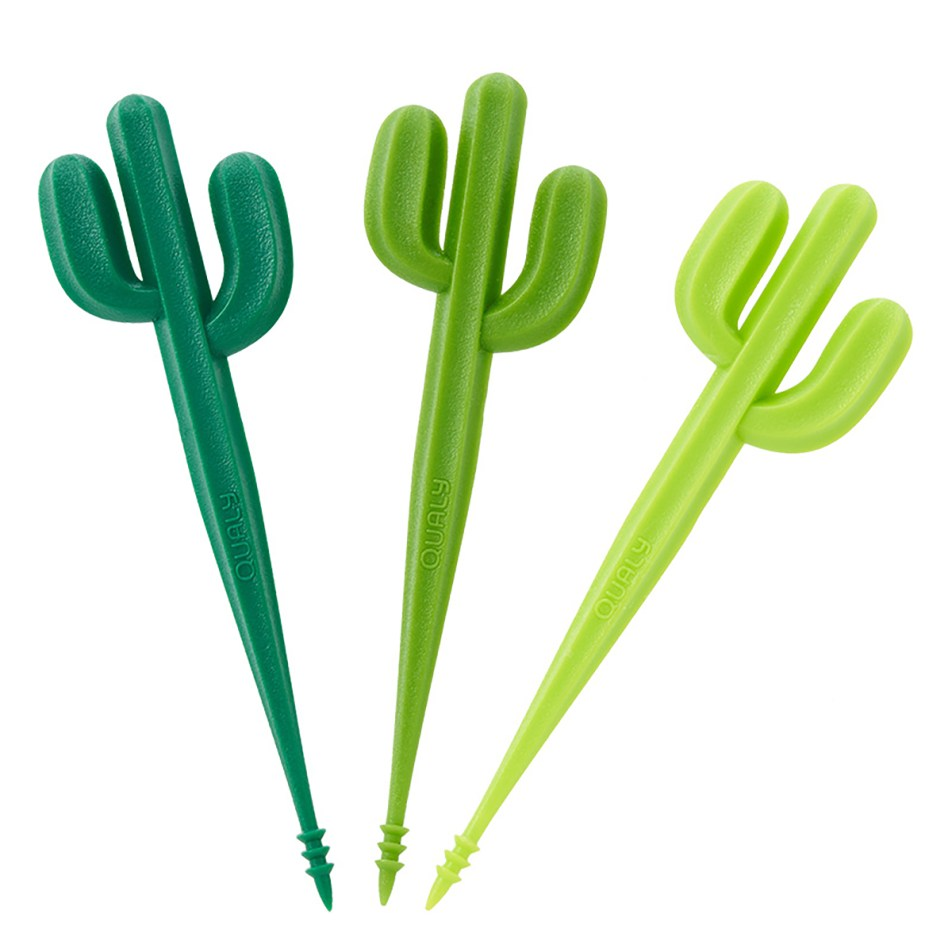 Piques Apéritif Cactus, jeu de 6