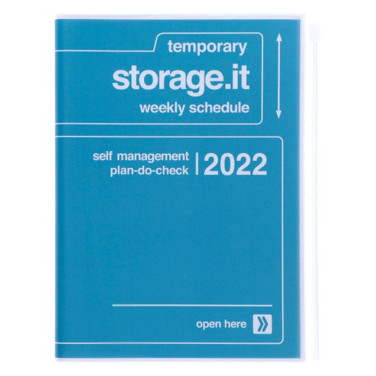 Agenda 2021-2022 Mark's Japan Storage it A5 Navy – sep21 à déc22